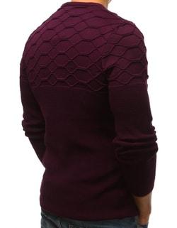 ... Bordó svetr v módním provedení e8b02aa93b