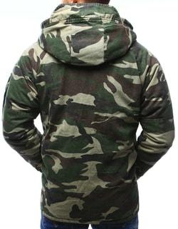 ... Zimní maskáčová bunda s army nášivkami 9f1aa55eab0