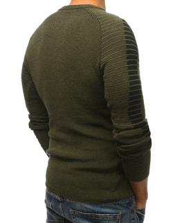 934718ac938 Sleva Skladem Fantastický zelený pánský svetr Fantastický zelený pánský  svetr