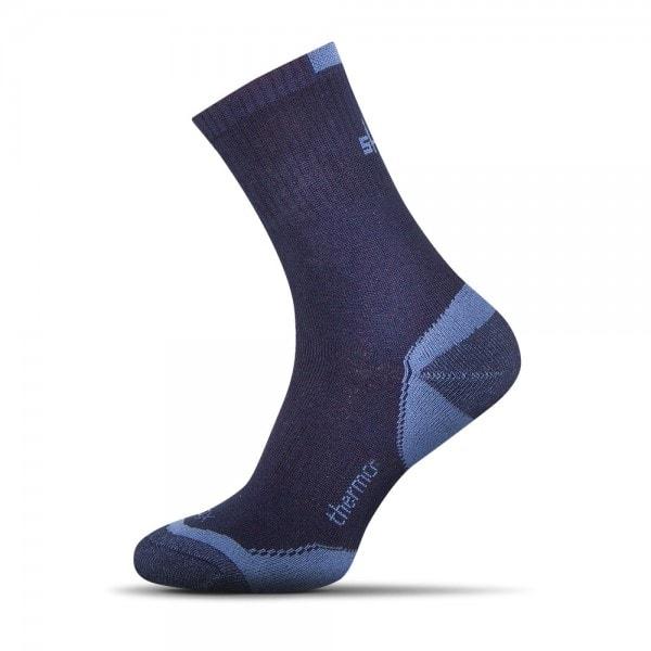 Termo bavlněné ponožky tmavě modré - Budchlap.cz a834eda343