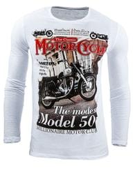Moderní pánské triko s potiskem (lx0361)