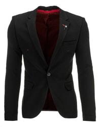 Elegantní černé pánské sako