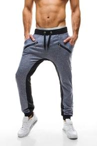 Teplákové kalhoty J.STYLE 1016 modré