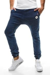 Tmavě modré stylové kalhoty OTANTIK 800