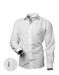 Victorio Výjimečná bílá elegantní košile V182