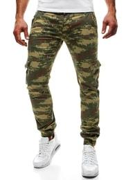 Nádherné pánské maskáčové baggy kalhoty MORO 03