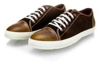 Hnědé pánské stylové boty MAZARO N42-8