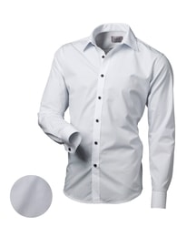 Victorio Elegantní bílá košile V134