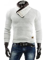 Pánský bílý svetr