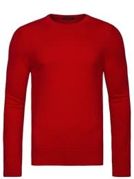 Exkluzivní červený pánský svetr NEW MEN 9020