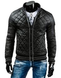 Prošívaná černá bunda (tx1037)