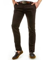 Hnědé pánské kalhoty CHINOS