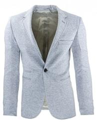 Sportovní pánské elegantní šedé sako