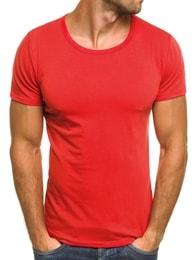 J. Style Červené moderní pánské tričko J. STYLE 712006 - M