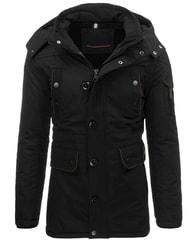 Fantastický černý pánský kabát