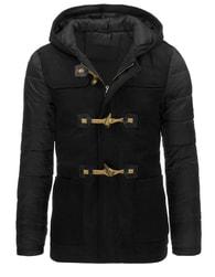 Pánská černá moderní zimní bunda