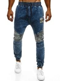 Otantik Moderní pánské džínové baggy kalhoty OTANTIK 817
