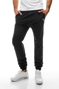 Černé pánské stylové kalhoty ATHLETIC 425