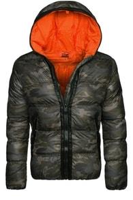 Stegol ARMY zimní moderní bunda STEGOL 128 oranžová
