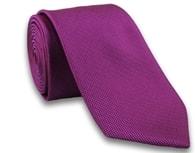 Fuchsiová pánská stylová kravata