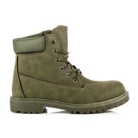 VIA GIULIA Stylové zelené módní pánské boty