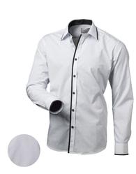 Victorio Moderní bílá košile v113