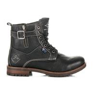 ROADSIGN AUSTRALIA Trendy černé zimní boty roadsign
