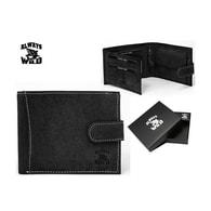 Černá pánská peněženka Wild