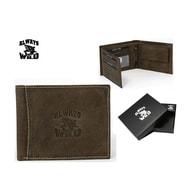 Hnědá pánská peněženka s logem WILD