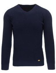 Modrý pánský svetr