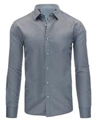 Elegantní šedá pánská košile
