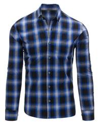 Moderní kostkovaná košile pro pány