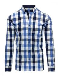 Jedinečná kostkovaná košile pro pány