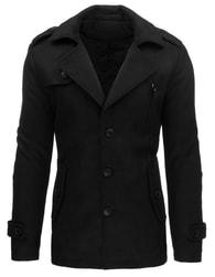 Zimní pánský jednořadý kabát 3127