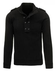 Černý pánský svetr