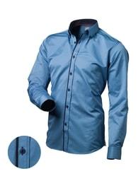 Victorio Modrá pánská košile V101
