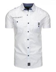 Stylová moderní bílá košile