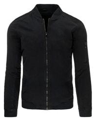Pohodlná černá pánská bunda