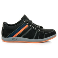 MAZARO Černé moderní pánské boty