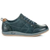 MAZARO Pánské kožené modré boty