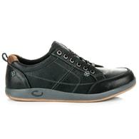 MAZARO Kožené moderní pánské boty MAZARO černé
