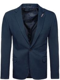 Tmavě modré sportovní sako 5504 - S/48