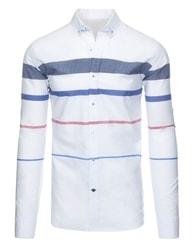 Nádherná pánská bílá košile SLIM FIT