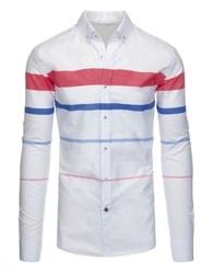 Atraktivní pánská bílá košile SLIM FIT