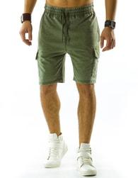 Pánské moderní zelené kraťasy - XL