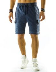 Perfektní pánské modré kraťasy - XL