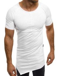 Athletic ATHLETIC 1112 asymetrické bílé pánské tričko