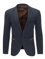 Moderní tmavě modré pánské sako