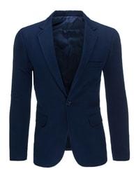 Klasické moderní sako pánské tmavě modré