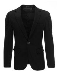 Zajímavé pánské černé sako